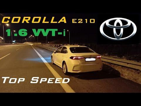 Toyota Corolla 2018  top speed