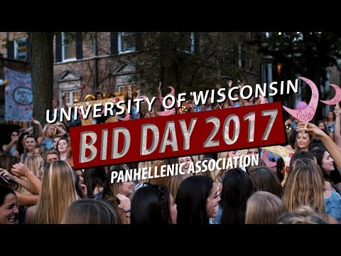 University of Wisconsin | Bid Day 2017