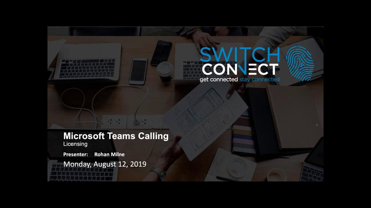 Microsoft Teams Licensing 101