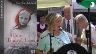 """Monika Dahlhoff: """"Eine Handvoll Leben. Meine Kindheit im Gulag"""" - Kurzvorstellung Schloss Burg 2015"""