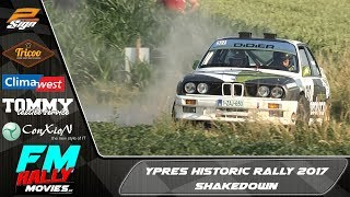 Ypres Historic Rally 2017 | SHAKEDOWN | FM rallymovies [HD]