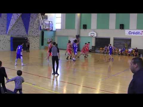 Match: LAGNIEU (DM4) VS SAINT AMOUR (PRM): 15 Avril 2018