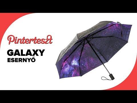 Pinterteszt #18 - Titkos galaxy esernyő (Galaxy umbrella)