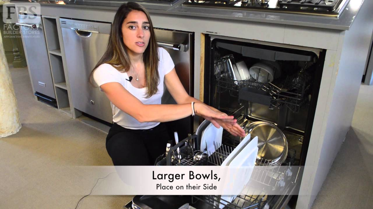 How To Load The Dishwasher Properly Youtube