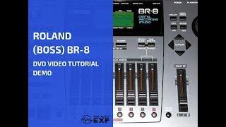 رولان (مدرب) BR-8 دي في دي فيديو تعليمي تجريبي استعراض المساعدة