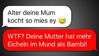 30 witzige WhatsApp CHATS zwischen TEENAGERN!