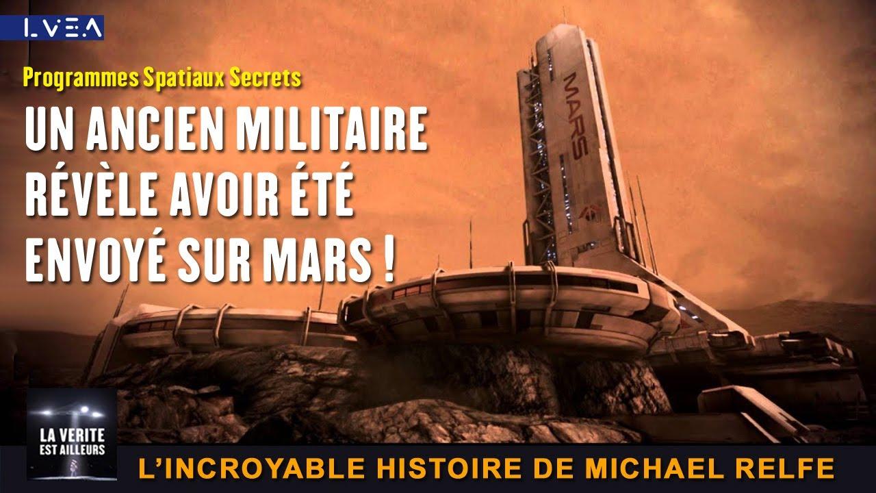 """★ """"L'humanité est en grand danger"""" déclare l'ancien soldat spatial secret Michael Relfe !"""