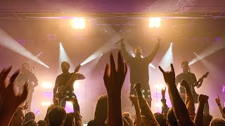 BURY TOMORROW - No Less Violent + Adrenaline @ Willem Twee, Den Bosch - the Netherlands 2019 LIVE