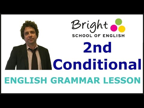 2nd Conditional - English Grammar Lesson - Bright School