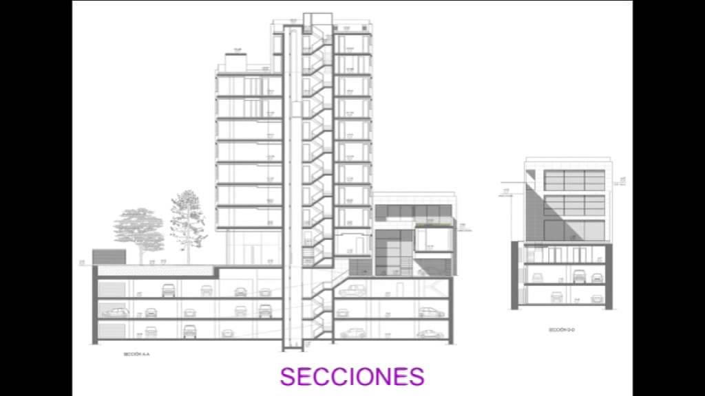 Planos edificio youtube for Plano de un vivero forestal