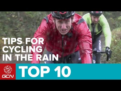 Top 10 Tips For Cycling In The Rain