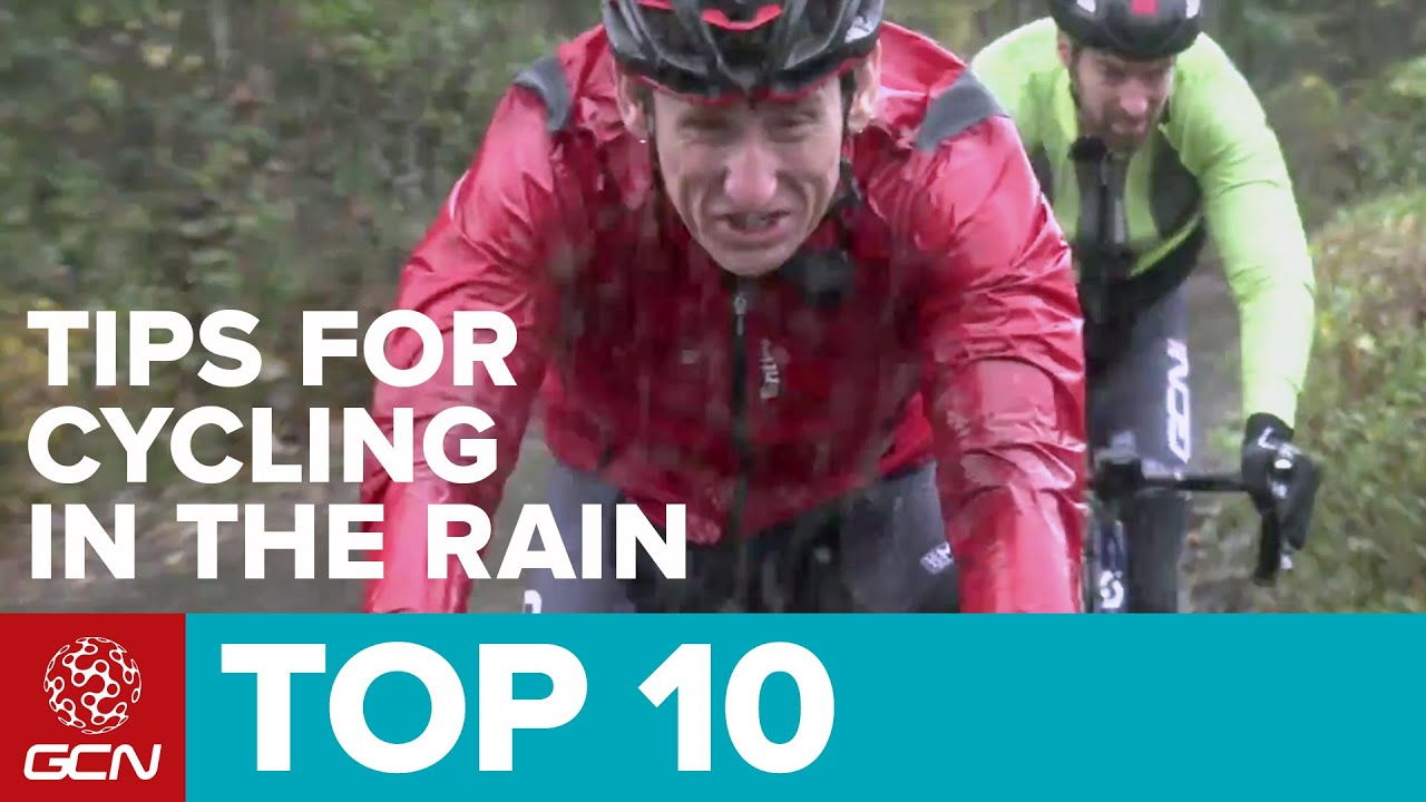 Tips for Pedaling in the Rain