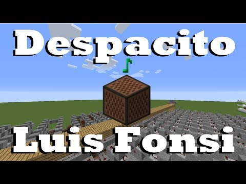 Despacito - Luis Fonsi ft. Justin Bieber - Minecraft Note Blocks 1.12