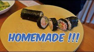30$ Homemade Sushi !