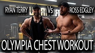 OLYMPIA TRAINING THROWBACK - Raw Chest Session with Ross Edgley
