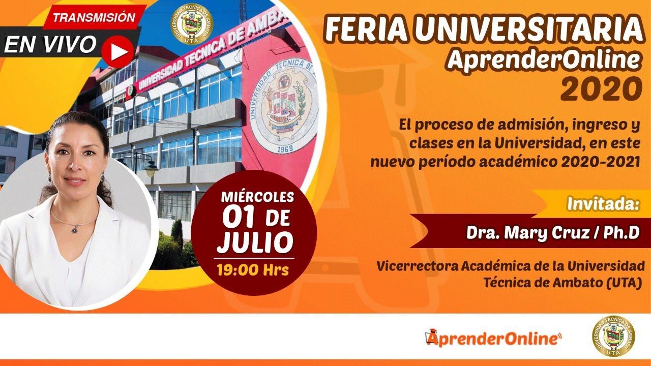 Feria Universitaria /  AprenderOnline 2020 / UTA