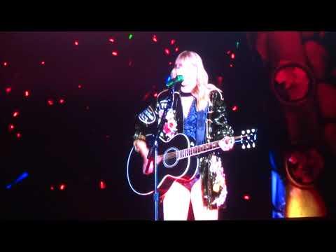 Taylor Swift - Wildest Dreams Live - Levi's Stadium - Santa Clara, CA - 5/11/18 - [HD]