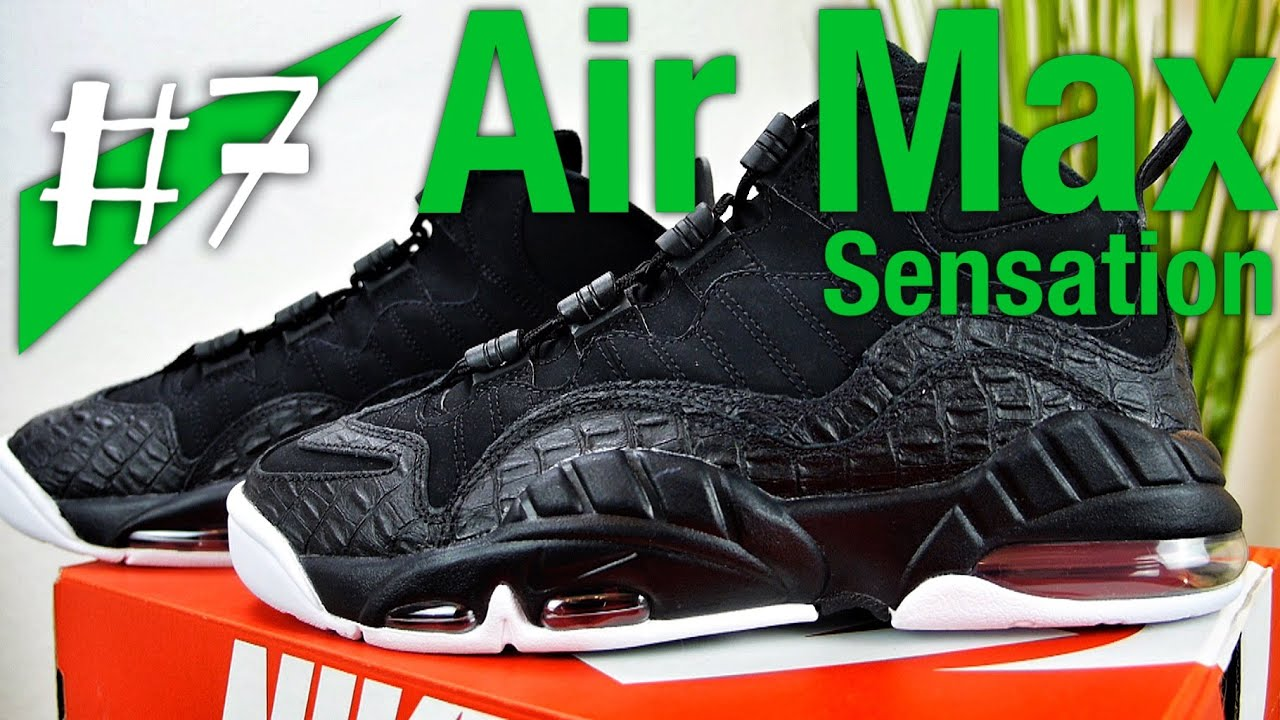 #7 - Nike Air Max Sensation Chris Webber - unboxing - sneakerkult