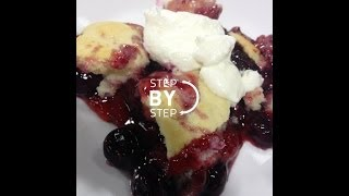 Healthy Berry Cobbler, Healthy Berry Cobbler Recipe, How To Make Berry Cobbler
