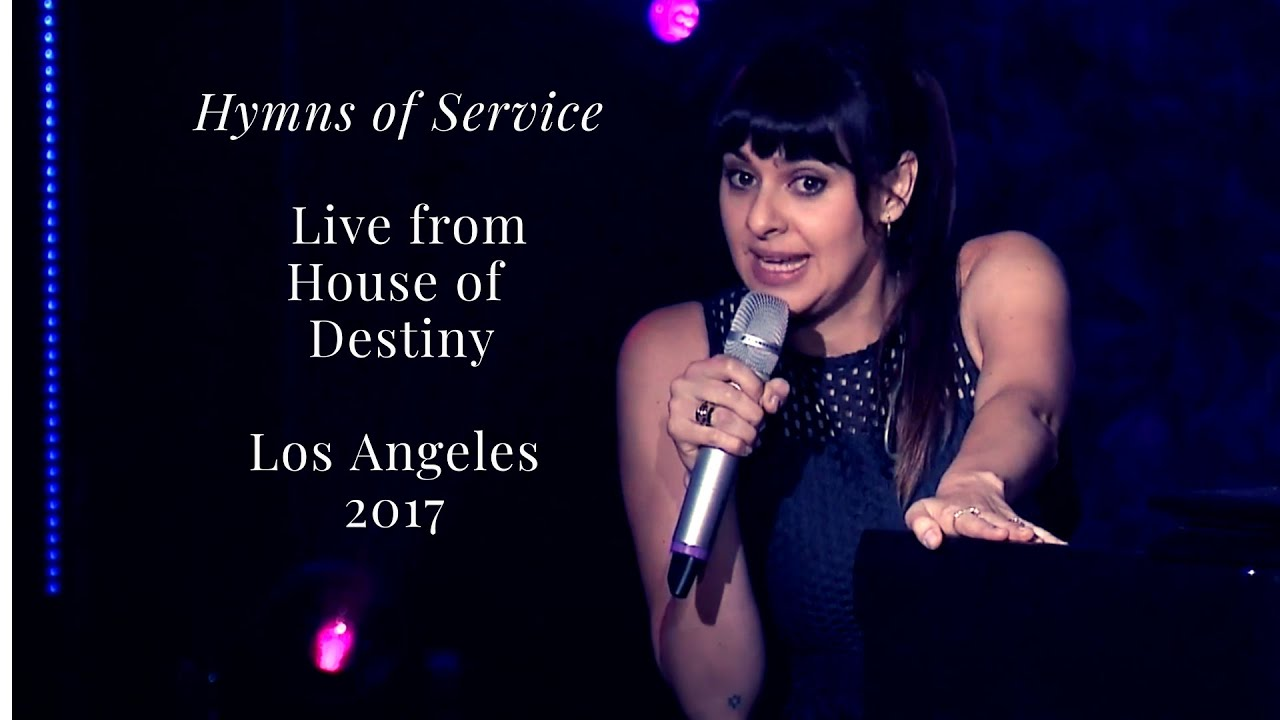 Pamela Myburgh - live from 'House of Destiny' in LA, 13 May 2017