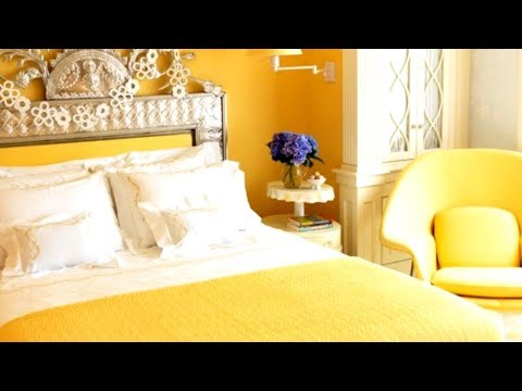 30+ Yellow Bedrooms, Interior Design Ideas
