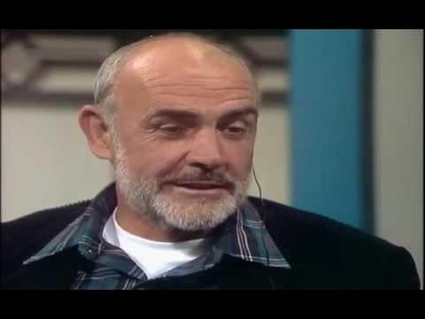Thomas Gottschalk im Gespräch mit Sean Connery 1986