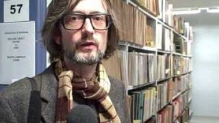 Jarvis Cocker at the BBC Archives BBC 6 Music Radio