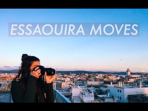 ESSAOUIRA MOVES - Morocco Travel Vlog Pt.3