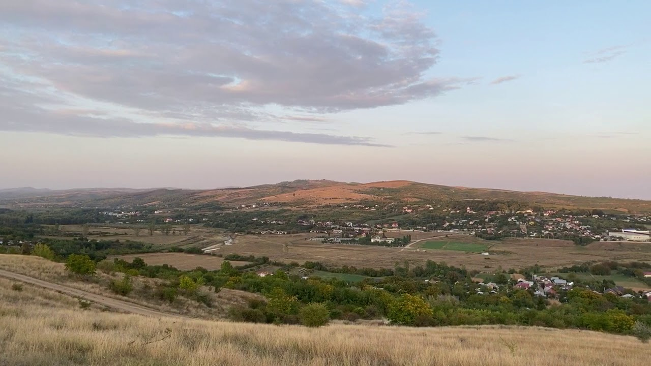 Vedere asupra orașului Urlați