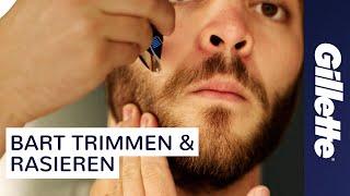Bart Trimmen, Bart Rasieren & Konturen definieren mit dem Gillette STYLER