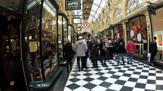 Royal Arcade, Melbourne. Steadicam Walking Tour
