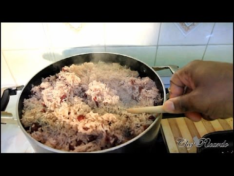 The Worlds Best Jamaican Rice & Peas Recipe Video Tradition Style