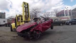 Tesla Road Trip: Bit of a Wreck!