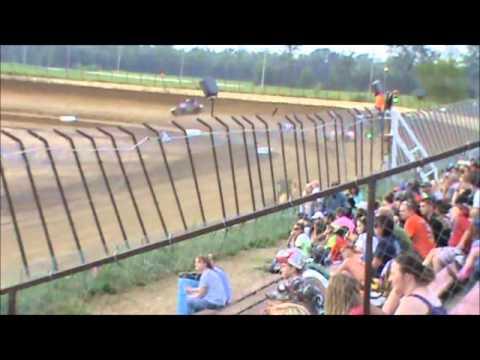 Matt Humphrey- Heat Race at Clay County Speedway 5-31-14