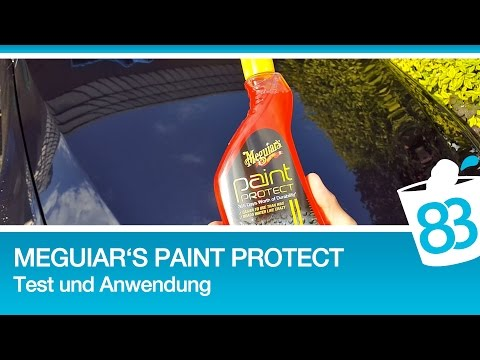 Häufig Meguiars Paint Protect Test Anwendung - Meguiars Paint Protect MS02