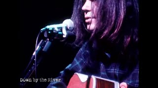 Neil Young  - Down by the River - Live  (Official Music Video)