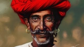 Speed Painting Indian