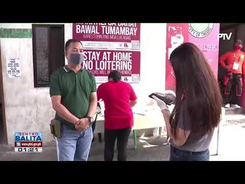 Unified Quarantine Pass, Gagamitin Sa Taguig City Para Sa Mas Maayos Nga Checkpoint Ops