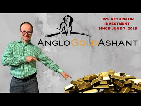 AngloGold Ashanti- 35% Return on Investment since June 7, 2019
