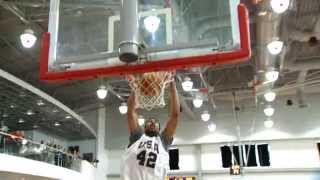 Best Dunks from USAB Training Camp in Slow Motion