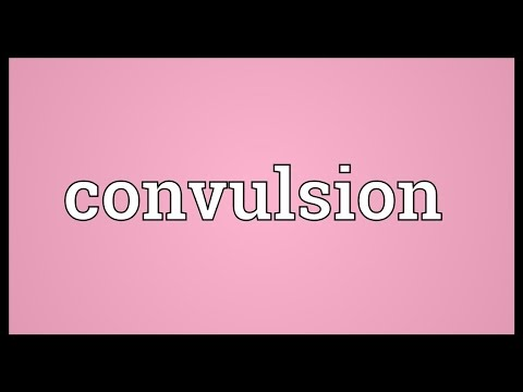 Convulsion Meaning
