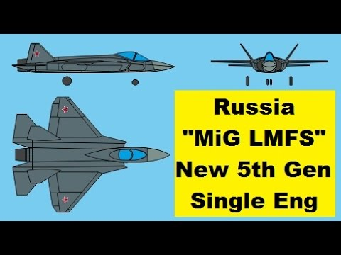 Mig Lmfs Russia Developing Advanced Lightweight New Fifth