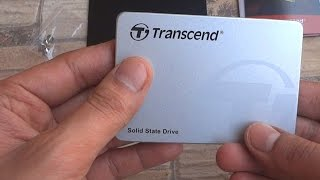 Transcend 128GB SSD Unboxing and Overview - SSD370S