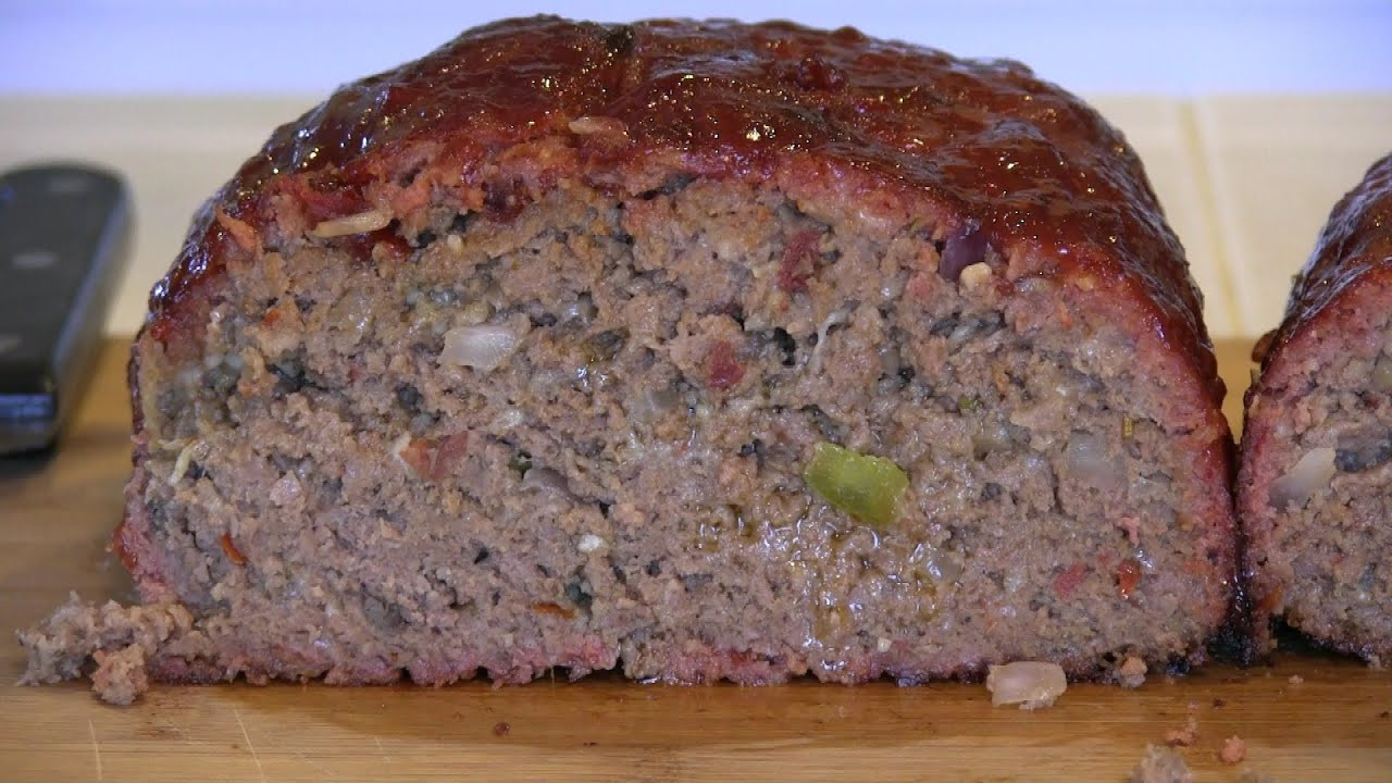 Smokingpit Com Signature Meatloaf Slow Cooked With