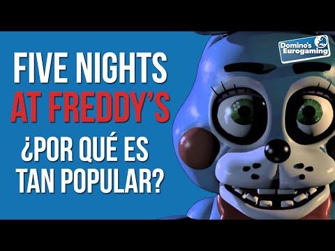 5 RAZONES por las que Five Nights at Freddy's es TAN POPULAR! #DominosEurogaming