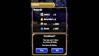 Brave Frontier: Xenon - The Unholy Tower Floor 81-90