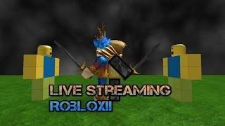 Robux giveaways! | ROBLOX LIVESTREAM! | Come and join me guys request your games!
