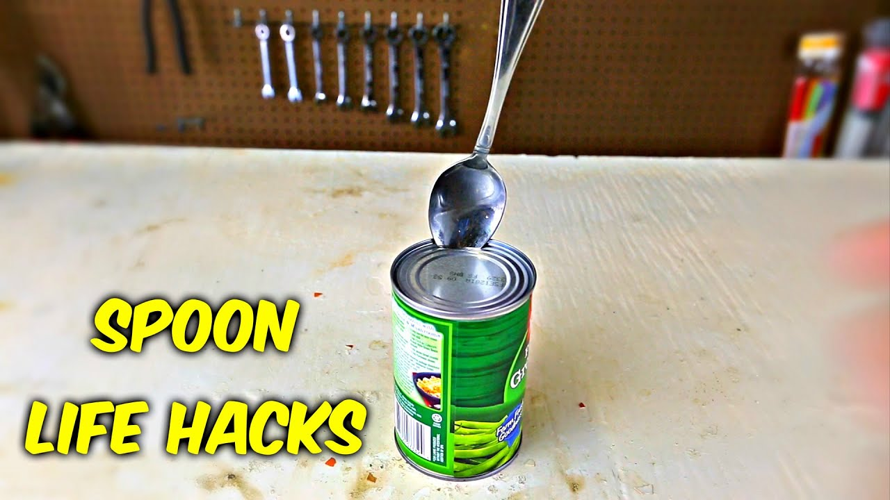 6 spoon life hacks put to the test youtube. Black Bedroom Furniture Sets. Home Design Ideas