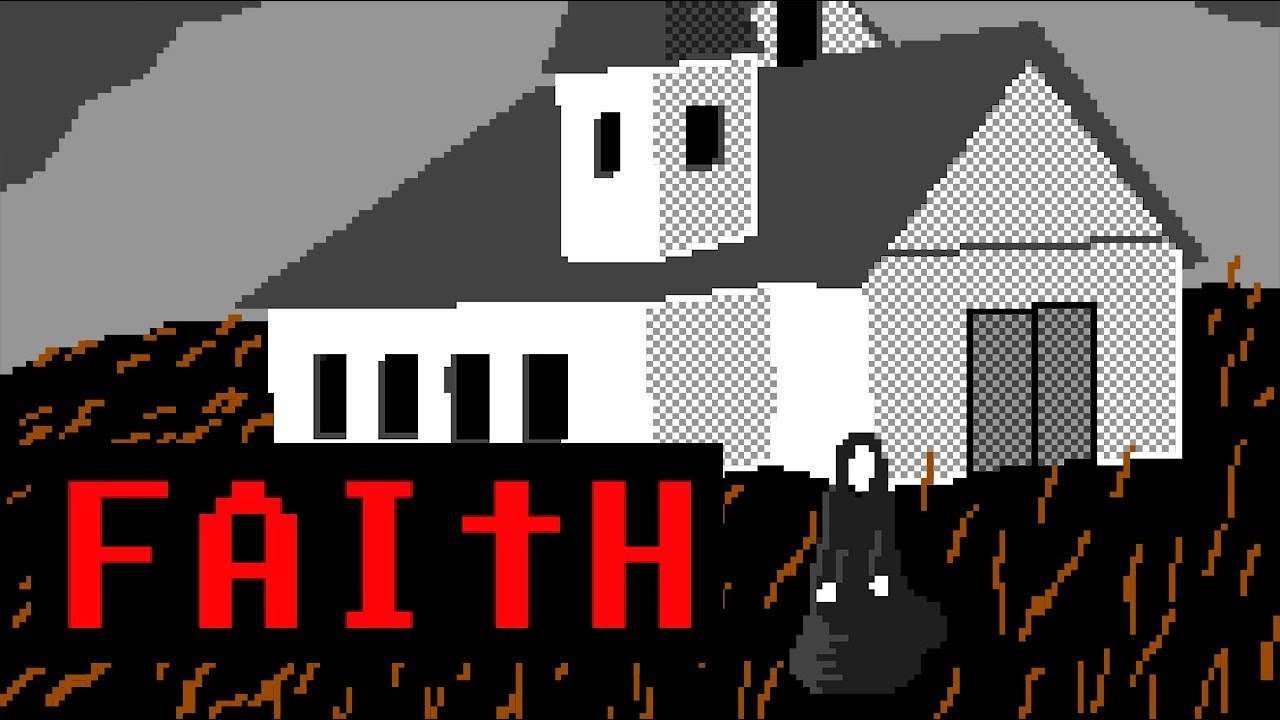 FAITH - Pixel Horror Indie Game Teaser Trailer