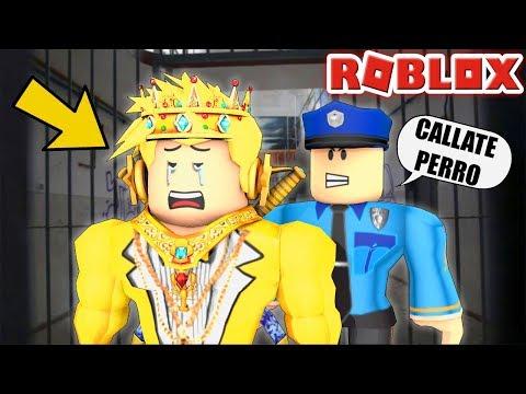 Me Meten A La Carcel En Roblox Injusto Youtube
